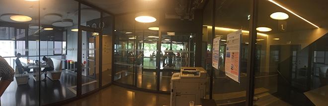 """Verglastes PressWerk-""""Studio"""" in Wien"""